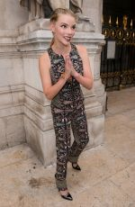 ANYA TAYLOR-JOY at Schiaparelli Haute Couture Show at Paris Fashion Week 07/02/2018