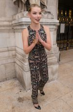 ANYA TAYLOR-JOY at Schiaparelli Haute Couture Show at Paris Fashion Week 07/02/2018