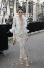 ARAYA HARGATE at Zuhair Murad Fashion Show in Paris 07/04/2018