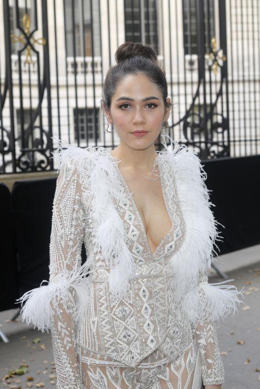 ARAYA HARGATE at Zuhair Murad Fashion Show in Paris 07/04/2018