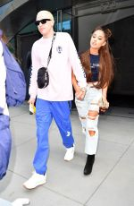 ARIANA GRANDE and Pete Davidson Heading to Her Concert in New York 07/11/2018