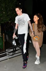 ARIANA GRANDE and Pete Davidson Night Out in New York 07/02/2018