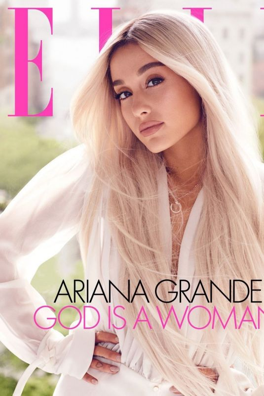 ARIANA GRANDE for Elle Magazine, August 2018 Issue