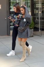 ARIANA GRANDE Leaves a Recording Studio in New York 07/10/2018