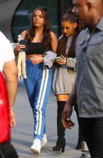 ARIANA GRANDE Out and About in New York 0705/2018