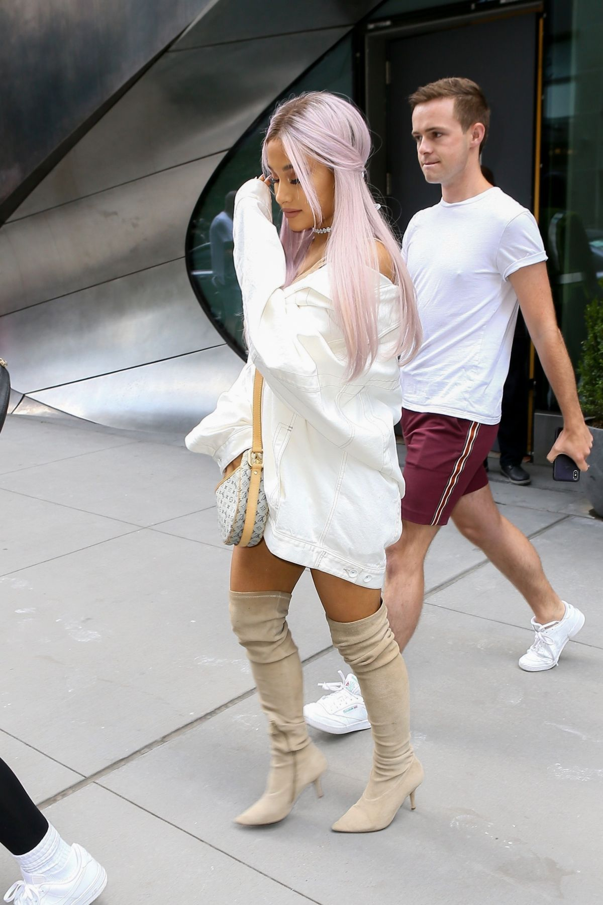 Boca Raton Shopping >> ARIANA GRANDE Out in New York 07/18/2018 – HawtCelebs