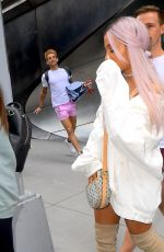 ARIANA GRANDE Out in New York 07/18/2018