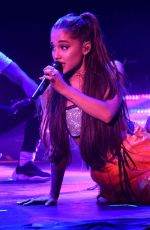 ARIANA GRANDE Performs at Amazing Prime Unboxing Event in New York 07/11/2018