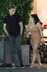 ARIEL WINTER and Levi Meaden Out for Dinner in Beverly Hills 07/23/2018