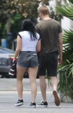 ARIEL WINTER and Levi Meaden Out for Lunch in Studio City 07/10/2018