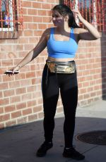 ARIEL WINTER Arrives at a Gym in Los Angeles 07/19/2018