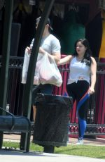 ARIEL WINTER at Grocery Shopping in Studio City 07/07/2018