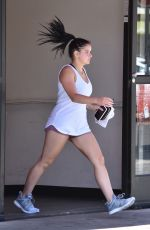 ARIEL WINTER Heading to a Gym in Los Angeles 07/24/2018