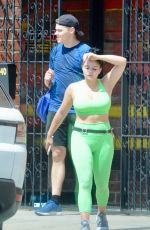 ARIEL WINTER Leaves a Gym in Studio City 07/21/2018