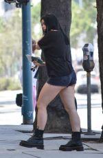 ARIEL WINTER Leaves a Studio in Los Angeles 06/29/2018