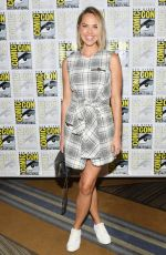 ARIELLE KEBBEL at Midnigt Texas Press Line at Comic-con in San Diego 07/21/2018