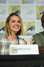 ARIELLE KEBBEL at The Midnight, Texas Panel at Comic-con in San Diego 07/21/2018