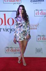 AROA GIMENO at Mas Sabe El Diablo Por Viejo Premiere in Mexico City 07/19/2018