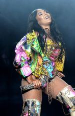 ASHANTI Performs at 2018 Essence Festival in New Orleans 07/08/2018