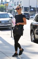 ASHLEE SIMPSON Leaves a Gym in Studio City 07/19/2018