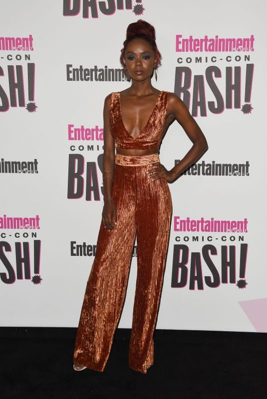 ASHLEIGH MURRAY at Entertainment Weekly Party at Comic-con in San Diego 07/21/2018