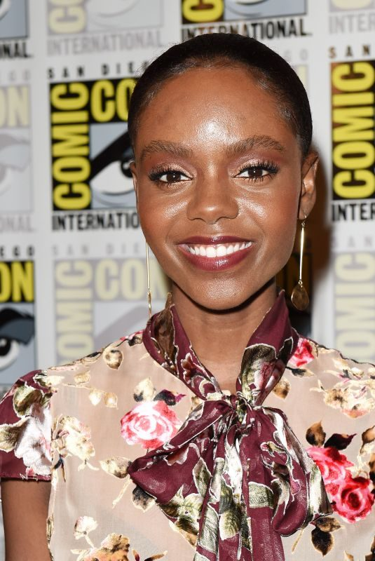 ASHLEIGH MURRAY at Riverdale Photo Line at Comic-con in San Diego 07/21/2018