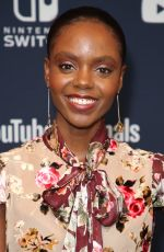 ASHLEIGH MURRAY at Variety Studio at Comic-con in San Diego 07/21/2018