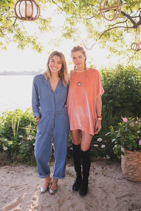 ASHLEY and JESSICA HART at Bellissima Bambini Launch in Montauk 06/30/2018