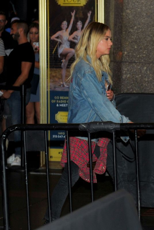 ASHLEY BENSON at Britney Spears' Concert in New York 07/24/2018