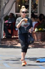ASHLEY BENSON Out in Los Angeles 07/16/2018