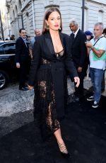 ASHLEY GRAHAM Arrives at Vogue Dinner Party in Paris 07/03/2018