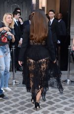 ASHLEY GRAHAM Arrives at Vogue Dinner Party in Paris 07/03/2018