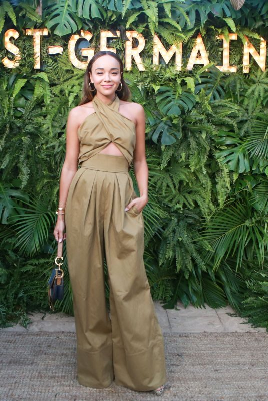 ASHLEY MADEKWE at 2nd Annual Maison St-Germain Event in Malibu 07/10/2018