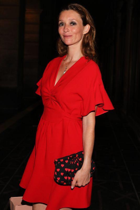 AUDREY MARNAY Leaves Miu Miu Fashion Shoe in Paris 06/30/2018