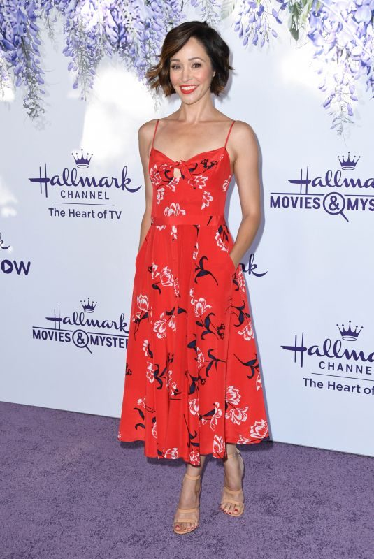 AUTUMN REESER at Hallmark Channel Summer TCA Tour in Beverly Hills 07/26/2018