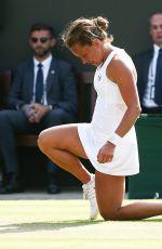 BARBORA STRYCOVA at Wimbledon Tennis Championships in London 07/06/2018