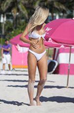 BASKIN CHAMPION in Bikini at a Beach in Miami 07/13/2018