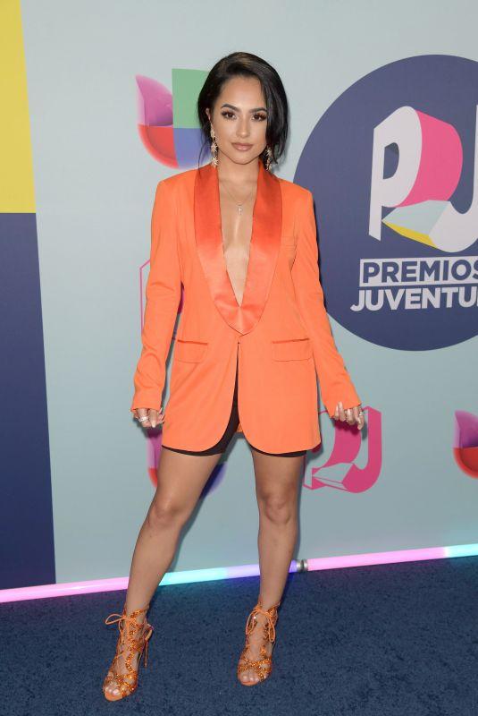 BECKY G at Premios Juventud Awards in Miami 07/22/2018