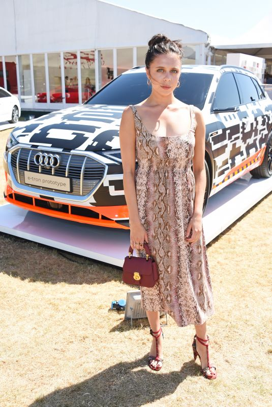 BEL POWLEY at Audi Polo Challenge at Coworth Park Polo Club 07/01/2018