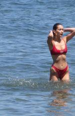 BELLA HADID in Bikini at a Beach in Malibu 07/04/2018