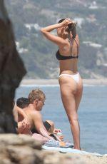 BELLA HADID in Bikini at a Beach in Thousand Oaks 07/10/2018