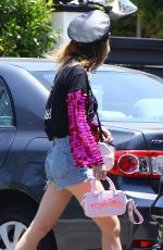 BELLA THORNE Leaves a Party in Los Angeles 07/12/2018