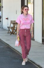 BELLA THORNE Out in Los Angeles 07/14/2018