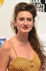 BESSIE CARTER at South Bank Sky Arts Awards in London 07/01/2018