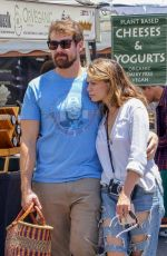 BETHANY JOY LENZ at Farmers Market in Los Angeles 07/01/2018