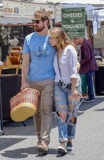 BETHANY JOY LENZ at Farmers Market in Los Angeles 07/01/2018