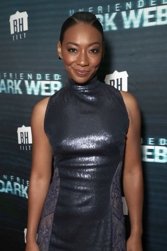 BETTY GABRIEL at Unfriended Dark Web Premiere in Los Angeles 04/17/2018