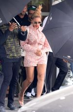 BEYONCE KNOWLES Out and About in Warsaw 06/30/2018
