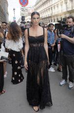 BIANCA BRANDOLINI at Elie Saab Show at Paris Fashion Week 03/03/2018