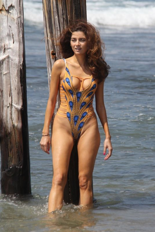 BLANCA BLANCO in Swimsuit at a Beach in Malibu 07/11/2018